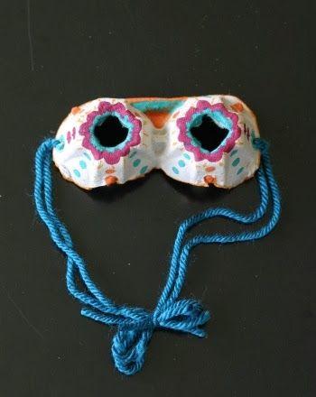 Okulöncesi Sanat ve Fen Etkinlikleri: Yumurta Kolisinden Gözlük Yapımı