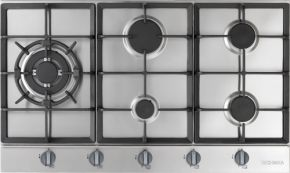 Colours Selection | Gas Cooktop - to check offered as standard  900mm Technika Gas Cooktop H950SLTXPRO
