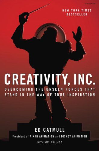 Creativity, Inc.: Overcoming the Unseen Forces That Stand in the Way of True Inspiration by Ed Catmull,http://www.amazon.com/dp/0812993012/ref=cm_sw_r_pi_dp_QrMFtb1K1R9THJQX