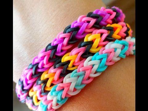 1000 id es sur le th me bracelets en lastique loom sur pinterest rainbow loom m tier. Black Bedroom Furniture Sets. Home Design Ideas