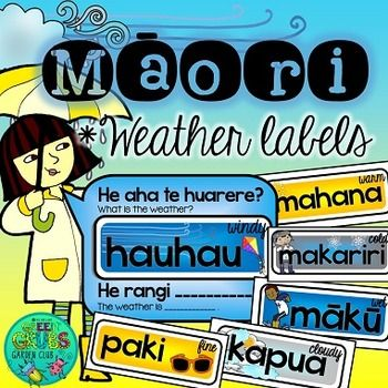 Add some colour to your wall display with these interchangeable Mori weather labels - simply cut out and laminate before letting your students change the word cards for you! Please check out the preview for a closer look at the resources in this pack!