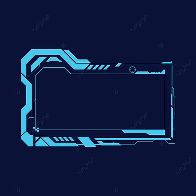 Hud Abstract Future Futuristic Screen System Virtual Streaming Overlay Hud Png And Vector With Transparent Background For Free Download Futuristic Technology Background Virtual