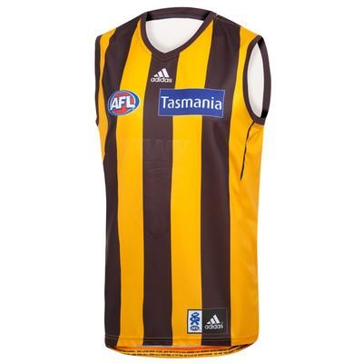 2013 Hawthorn Guernsey - Home Adult $120  .....when I've lost enough weight :-)