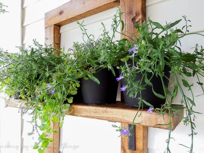 Diy Vertical Herb Garden And Planter 2X4 Challenge 400 x 300