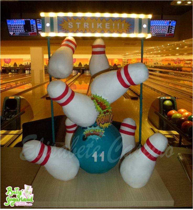 Bowling Cake Decorating Ideas
