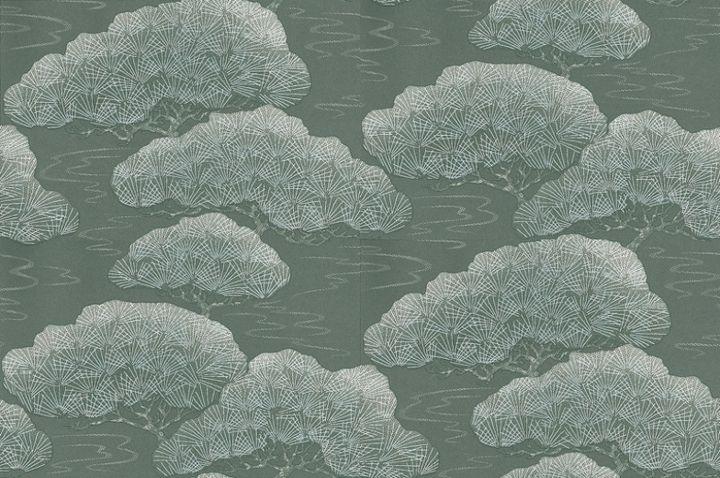 Little Greene wallpaper Silver Pine on shopstyle.com.au