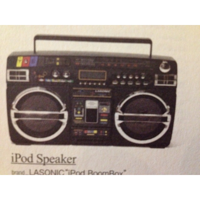 iPod BoomBox by LASonic