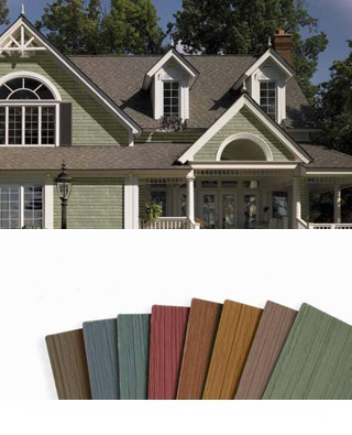 Split-level house siding ideas