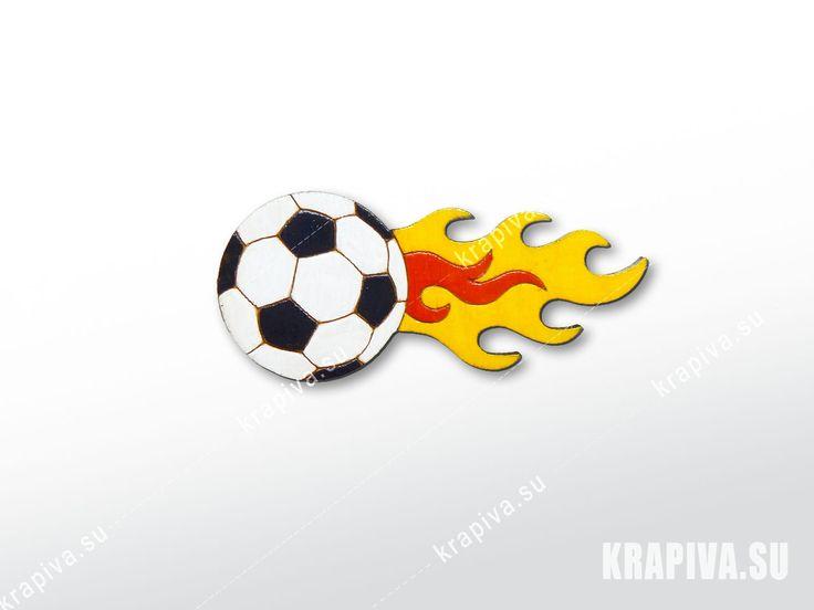 Огненный мяч  значки, брошь, деревянный значок, значок из дерева, деревянные значки, деревянная брошь, ручная работа, handmade, brooch, wood, pin, мяч, огонь, fire, ball