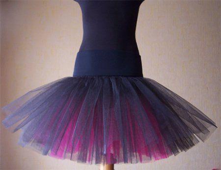 Как сшить юбку из фатина: выкройка и мастер класс по шитью