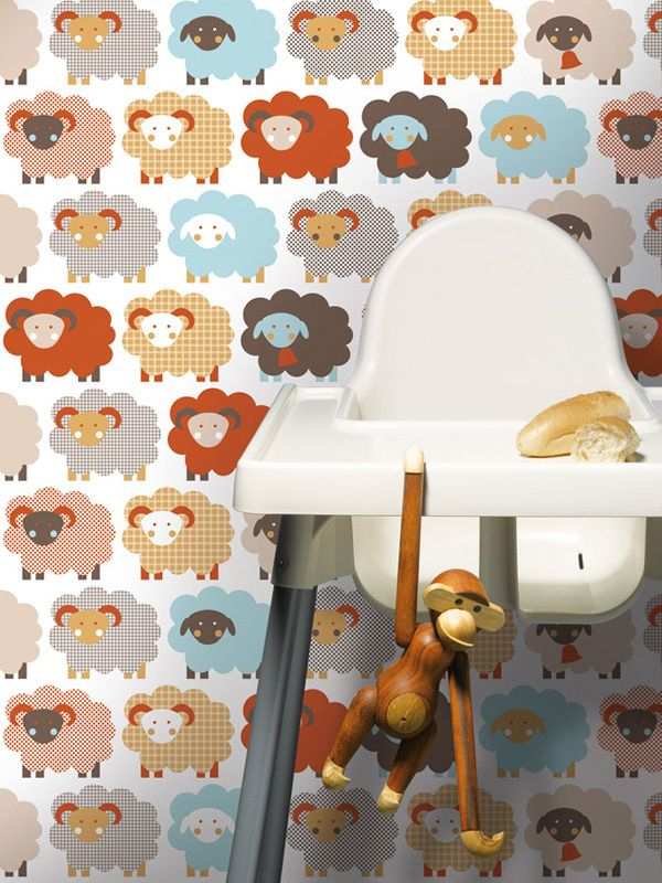 Marketa / non-woven wallpaper / lavmi