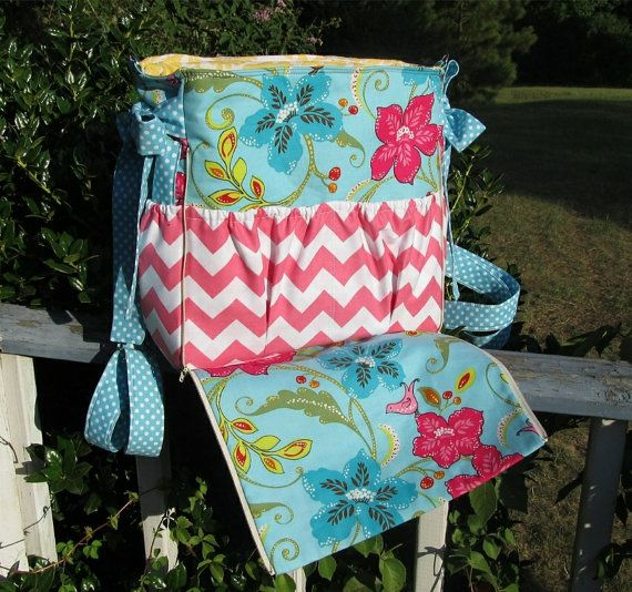 Custom Diaper Bag Backpack Handmade Ultimate Cross Body Convertable Zip Out Changing Pad 14 Pockets You Pick the Fabric Baby Boy Girl Nappy on Etsy, $115.00