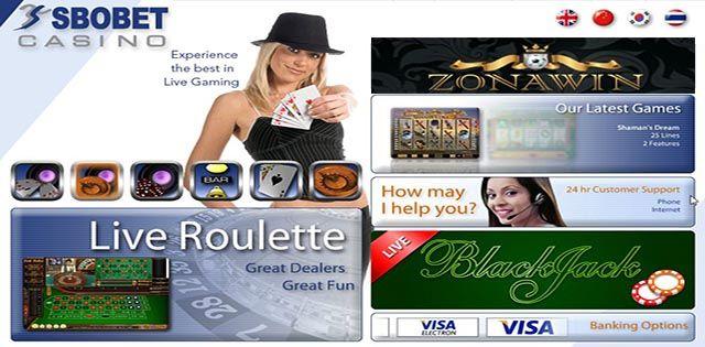 Casino Online Sbobet (338A) adalah sebuah produk yang berbasis sebuah permainan Casino, dan Game ini adalah sebuah produk dari game Sbobet selain Sportbook (sport). Permainan Casino Online Sbobet (338A) banyak terdapat jenis permainan seperti Bakarat, Sicbo (dadu), Rollet, dan juga Slot Mesin. Terdapat Live Casino dan juga Non Live Casino atau biasa di sebut Casino Games.