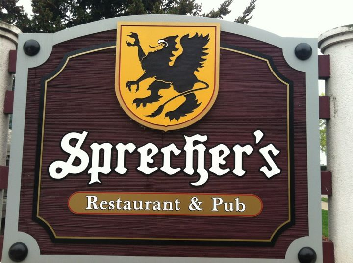 Living only 45 minutes from Lake Geneva, this is a nice way to spend the day and eat at Sprecher's, famous for its root beers and cream sodas.