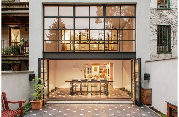 Cumberland Terrace in Fort Greene, Brooklyn by Elizabeth Roberts/Ensemble Architecture | Remodelista