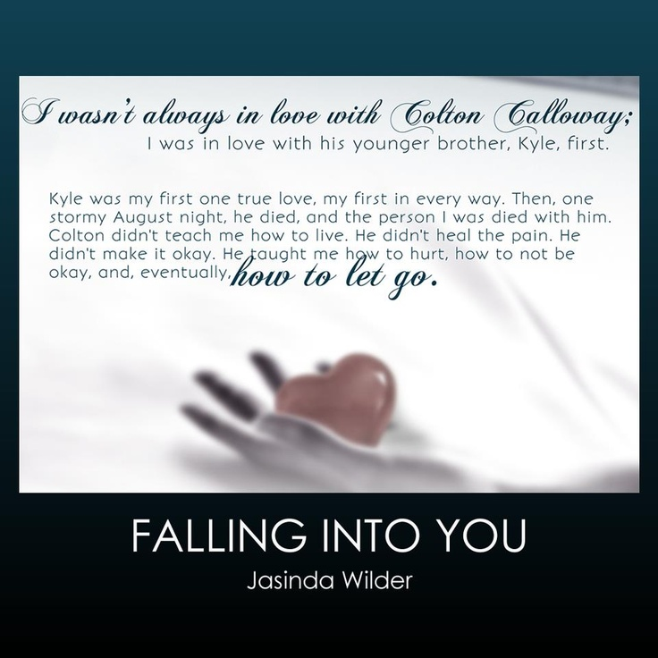 Falling Into You by Jasinda Wilder -  Kyle and Nell literally grow up together and experience all their firsts.  Then Kyle dies and his brother Colten must teach Nell how to let go...how to grieve, & how to live.  Heartbreakingly beautiful book.. 5 +*****stars***