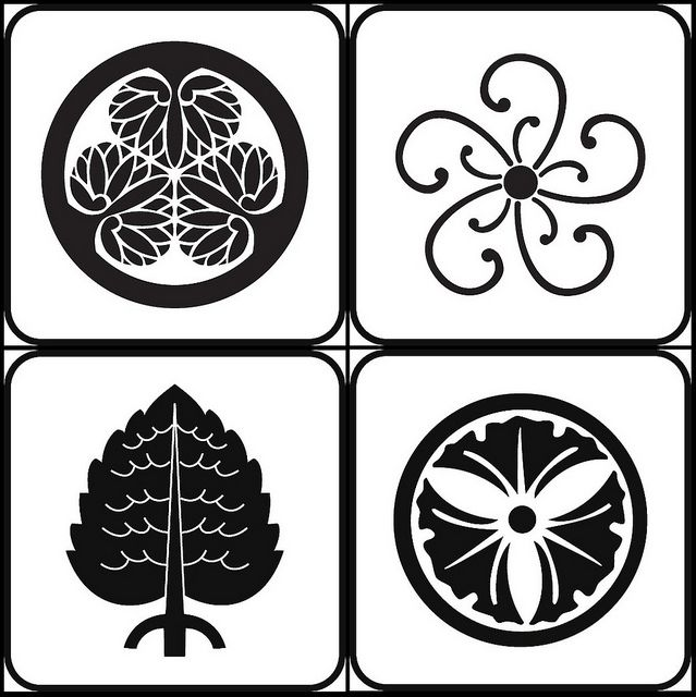 126 best ArtJapanese Crests and Emblems images on Pinterest - family mon