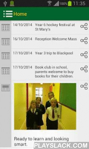 StABCPS  Android App - playslack.com , Free to download the St Ambrose Barlow Catholic Primary School app. Ideal for parents, staff and pupils to keep up to date with school activities, calendars and term dates. This is an app that allows you to be part of your child's learning journey at our school and supports easy communication between home and school!
