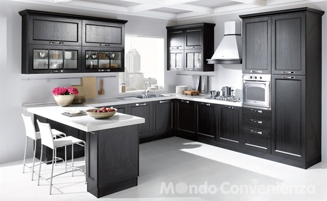 Louisiana cucine moderno mondo convenienza for Cucine complete mondo convenienza