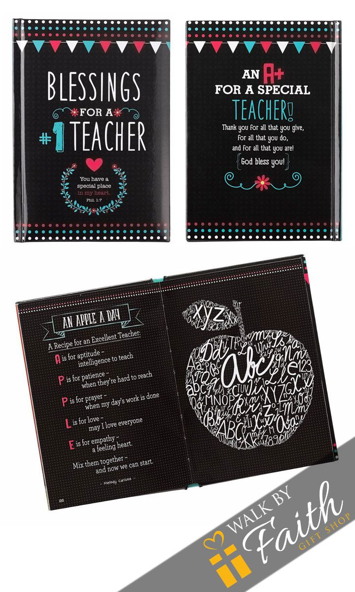 Teachers partner with parents to shape the lives and minds of their children and to prepare future leaders. Recognize the hard work and dedication of your child's teachers through this inspirational b