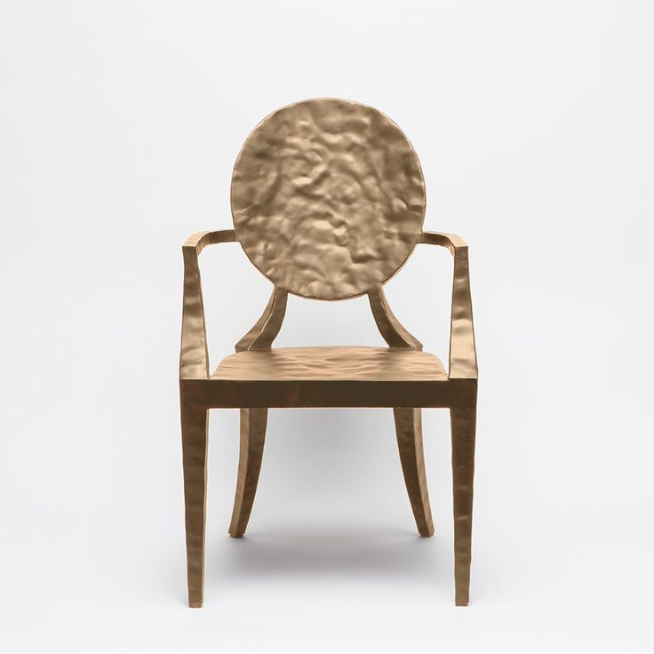 made goods daphne dining chair in gold