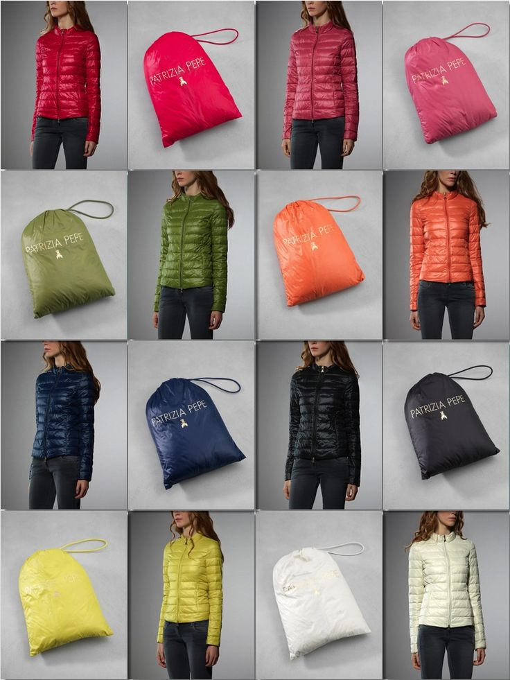 The real #MustHave for #FALL13 Don't miss your chance to get into colorfull world of Ultralight Goosedown Jacket from Patrizia Pepe ($160)  http://patriziape.pe/1eSfe3b