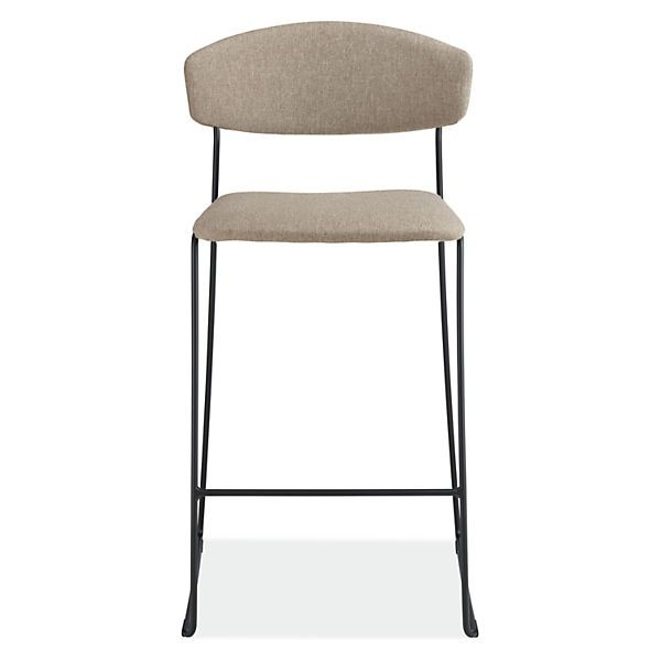 Wolfgang Counter Stool In Fabric Modern Counter Bar Stools