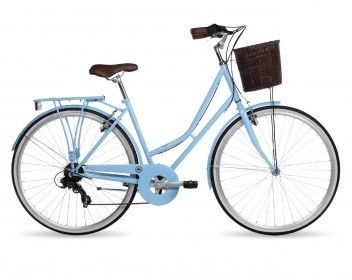Kingston Hampton Traditional City Bike | Ladies Classic Bike | Womens Shopper Bike | Bikes Direct 365 | @giftryapp