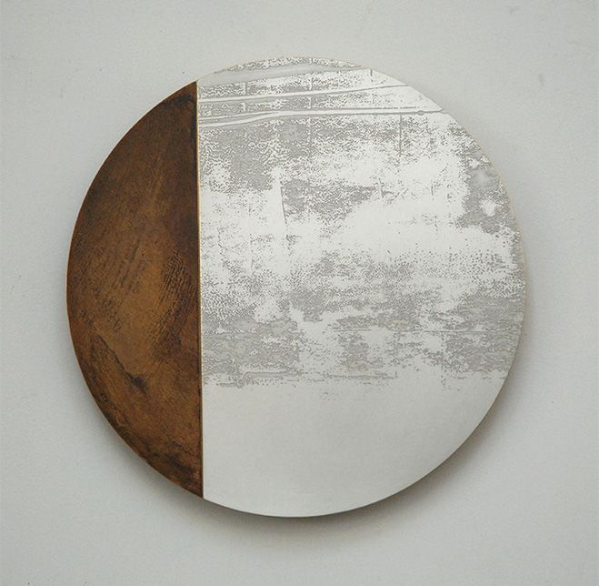 Fleeting Nature – Abstract Etched Metal Artworks by Rebecca Gouldson | OEN