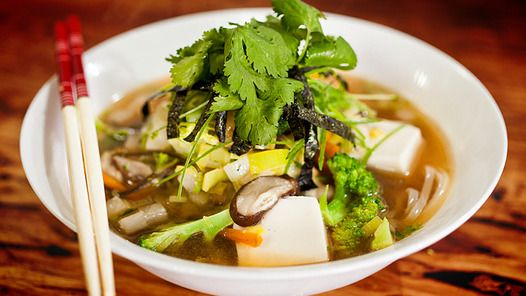 Japanese Miso Soup. Vegan. Healthy enzymes. Eat it.