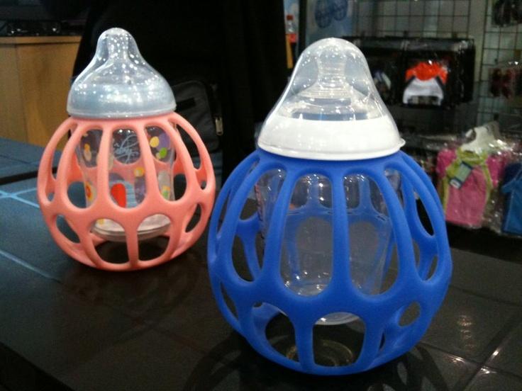 whoa - check out this crazy bottle holder - called the BabyBanz ba