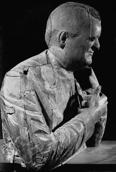 Fazzini Pericle Portrait of Ungaretti Wood Sculpture - Community - Google+