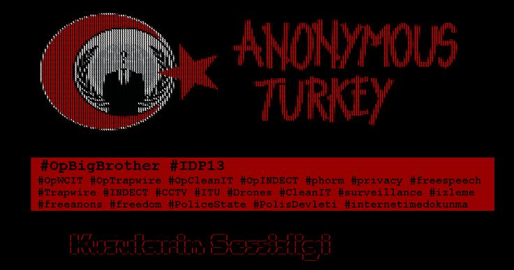 #Anonymous Hackers deface Turkey government sites http://news.thehackernews.com/anonymous-hackers-deface-turkey-government-sites