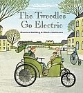 "The Tweedles Go Electric by Monica Kulling:  ""How do they run? Are they safe?"" asks Mama, nervously. ""On a battery,"" replies Papa, proudly. ""They are safe as houses."" ""Not too fast, Papa,"" warns Mama. ""Remember Francess nose."" ""Which one?"" asks Papa. ""She only has the one nose, dear,"" replies Mama. ""I..."