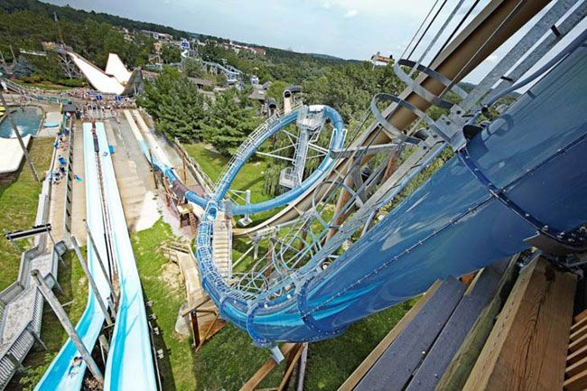 12 Most Terrifying Waterslides In The World  RawDumps