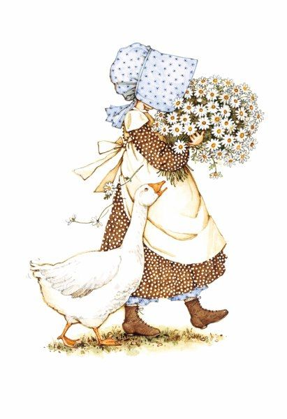 Holly Hobbie con ganso                                                                                                                                                                                 Más