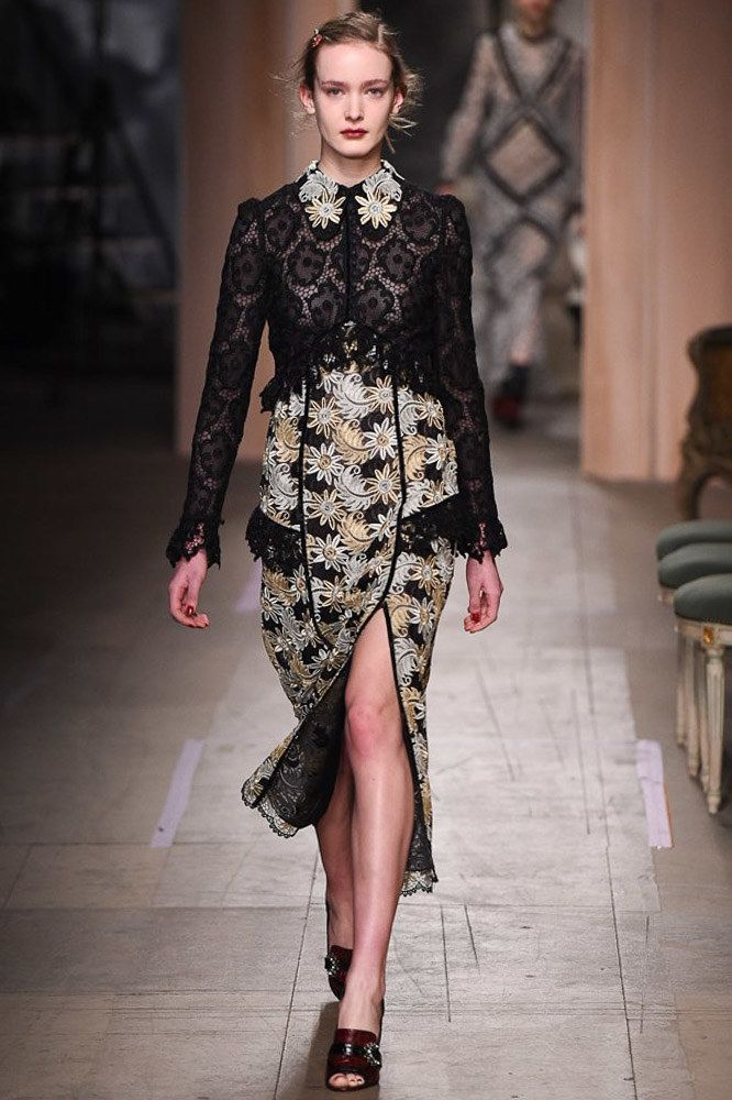 Erdem Fall 2016 Ready-to-Wear Fashion Show