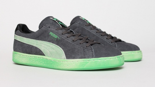 Puma Suede Washed - Green