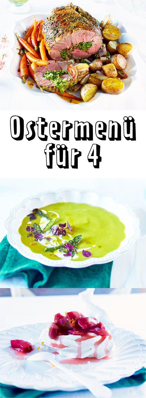 Ostermenü inklusive Zeitplan