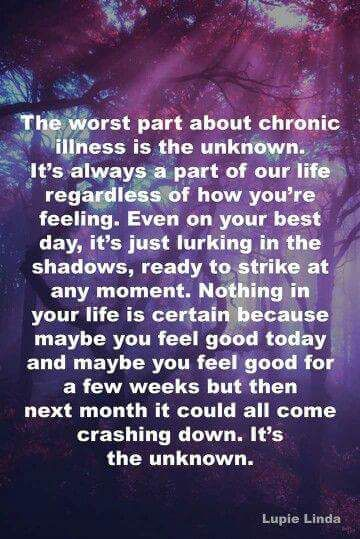 Living my life with an autoimmune autonomic neuropathy.