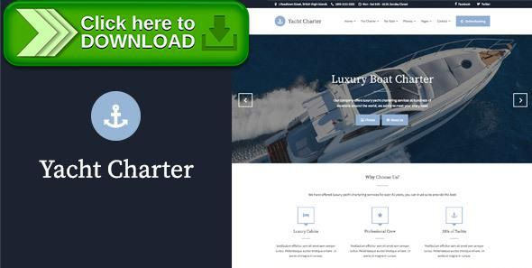 [ThemeForest]Free nulled download Yacht Charter - HTML Template from http://zippyfile.download/f.php?id=36654 Tags: boat, booking, catamaran, charter, cruise, marina, ocean, sailing, sea, ship, tours, travel, Water Sports, yacht, yachting