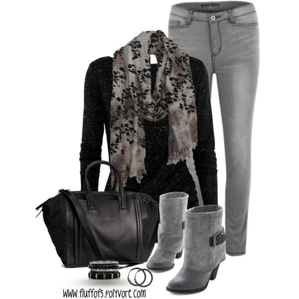 Black & Gray Fall fashion