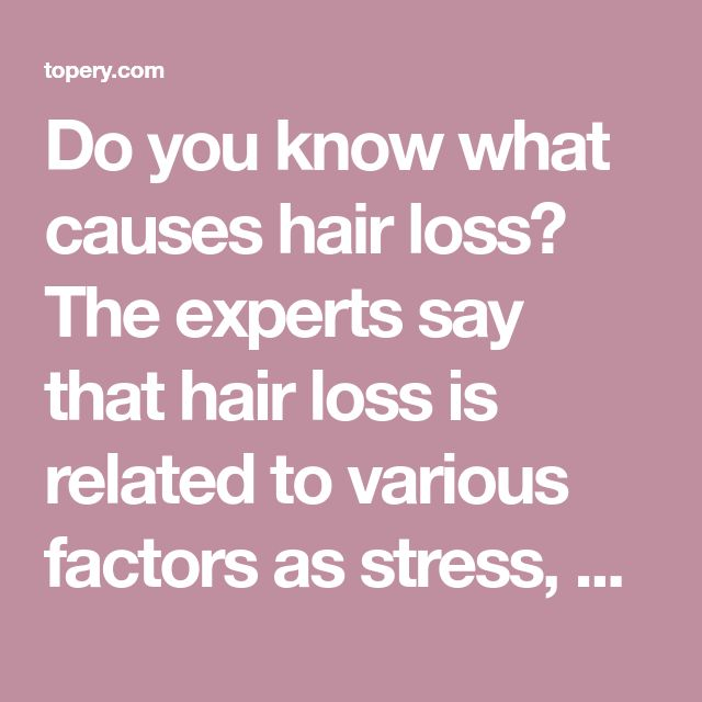 Do you know what causes hair loss? The experts say that hair loss is related to various factors as stress, pregnancy, menopause, weight loss, etc. But, also other reasons can speed up and promote the hair loss. Stress can cause a hormonal imbalance and lead to excessive hair loss. This issue can make you insecure […] #hairlossmenopause