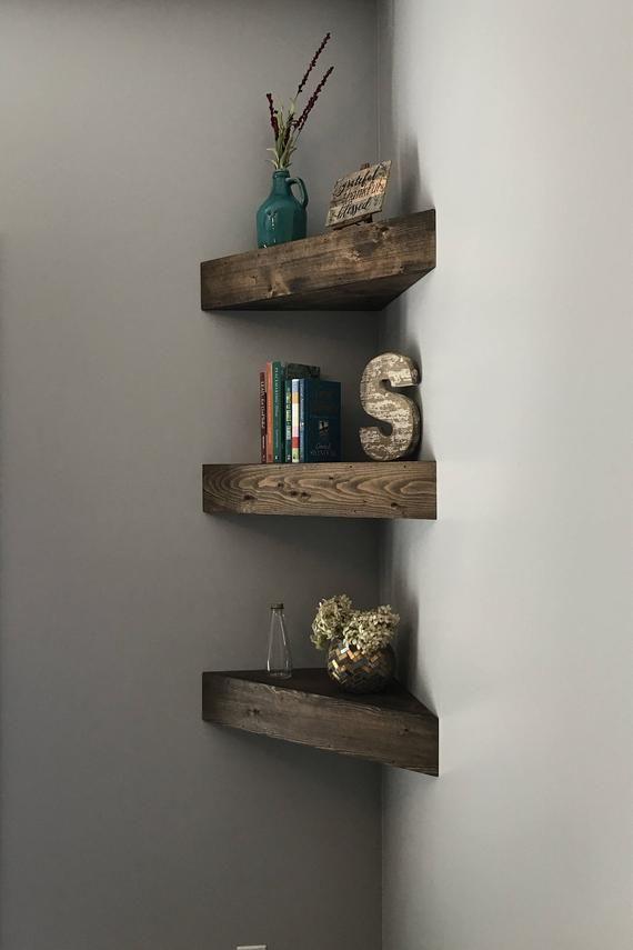 Corner Shelf Shelves Floating