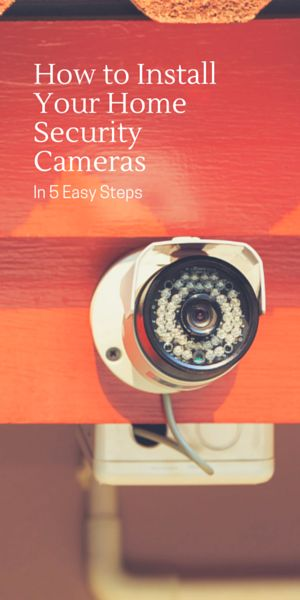 of a home security system can be expensive video cameras can be an effective way to deter and detect intruders