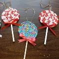 Lollipop ornaments: Lollipops Ornaments, Christmas Crafts, Christmas Ornaments, Christmas Ideas