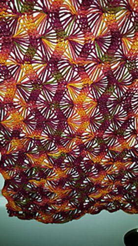 Ravelry: Machine Fan Lace Cheatsheet pattern by Kristy Sipe