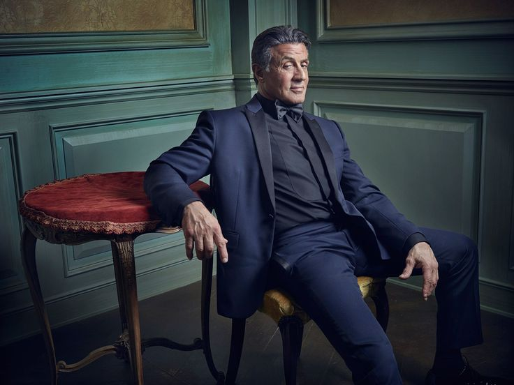 Sylvester Stallone   Mark Seliger's Vanity Fair Oscar Party Portrait Studio