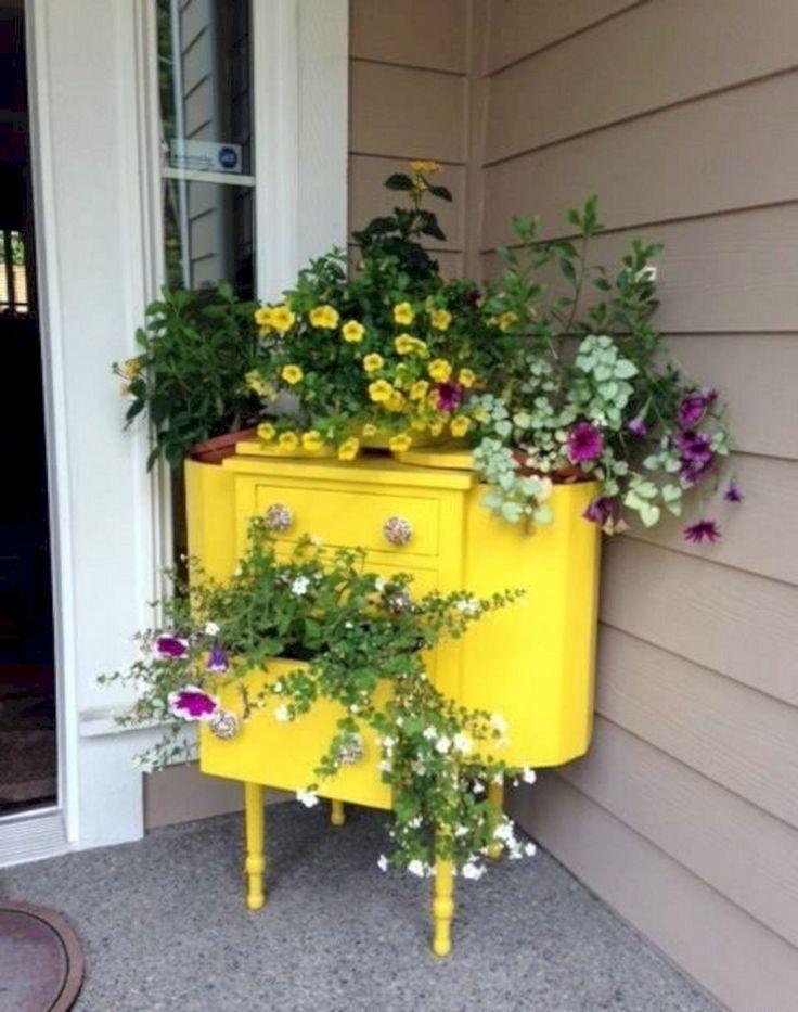 front porch flower pot stand