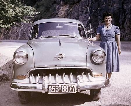Opel Olympia Rekord 1953/54